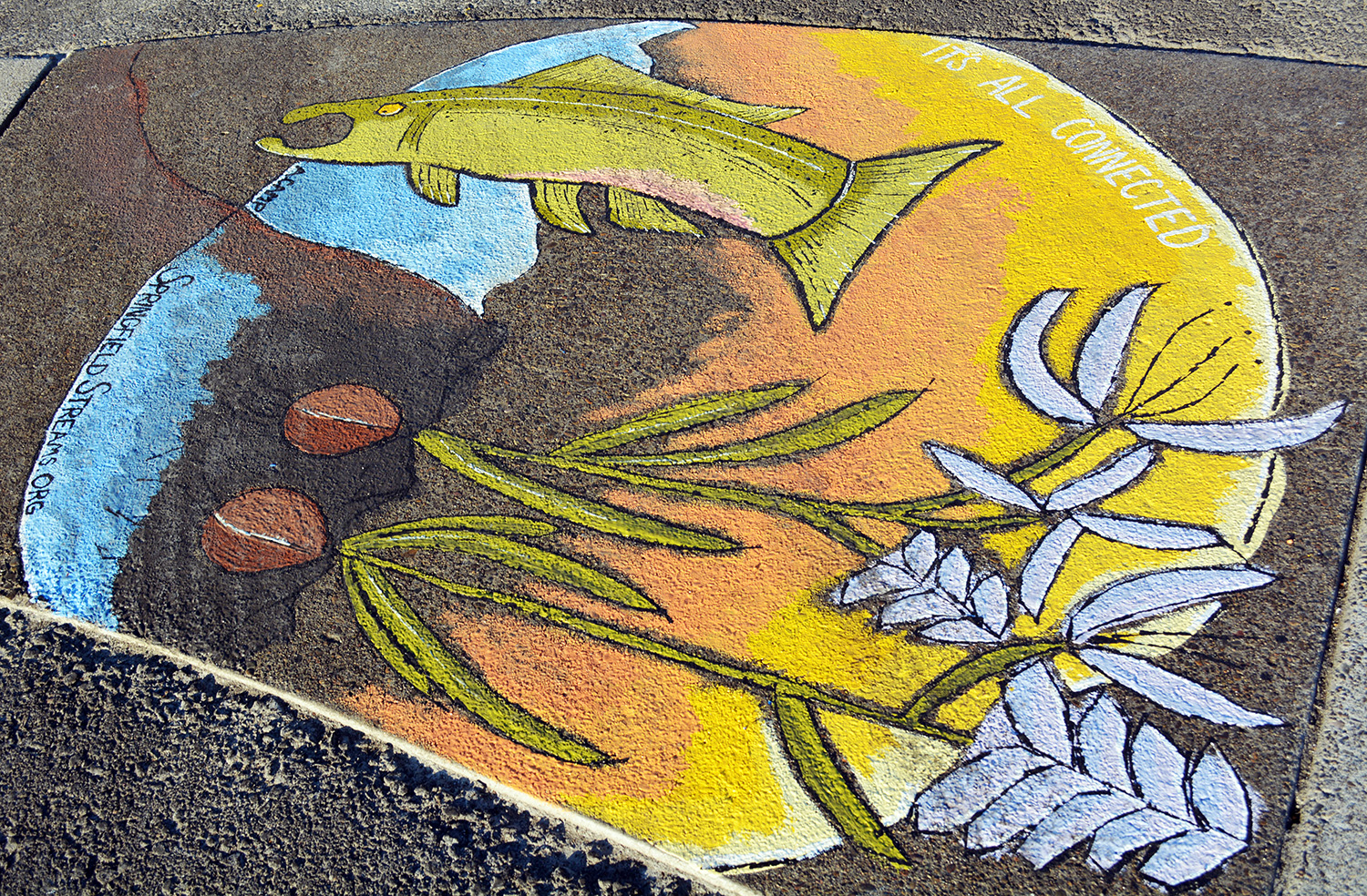 2018 UpStream Mural by Allie Camp